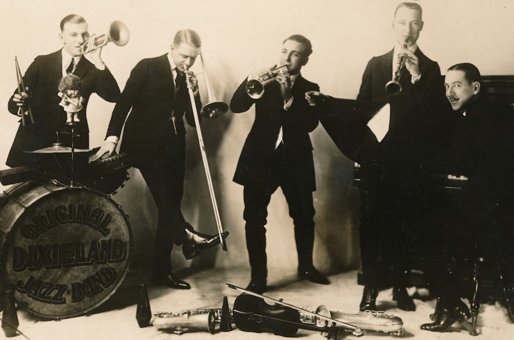 THE WORLD'S FIRST MAN IN JAZZ-HOME